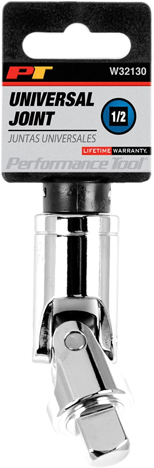 Performance Tool W32130 1//2 Drive Universal Joint