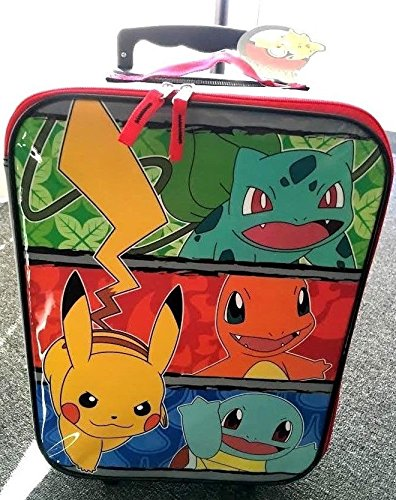 New Nintendo Pikachu Pokemon Rolling Suitcase Kids/Child Travel ...