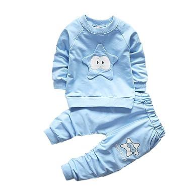Boys' Clothing (0-24 Months) 2PCS/Set Baby Boys Girl Kids Shirt Tops+Long Pants Sweatshirt Clothes Outfits AB
