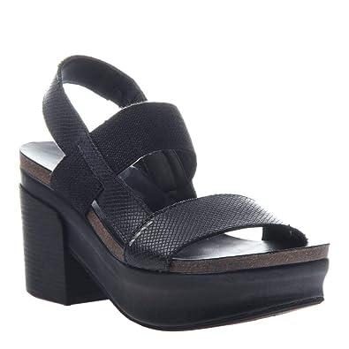 40f8af07c21 OTBT Women s Indio Wedge Sandals - Black - 6