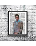 Seinfeld Cosmo Kramer photo vintage dictionary art print the Kramer 8x10