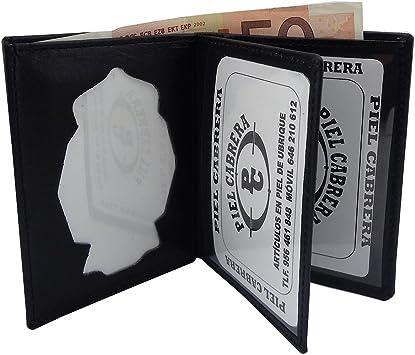 Cartera para Policia Nacional España Tipo Libro: Amazon.es: Equipaje