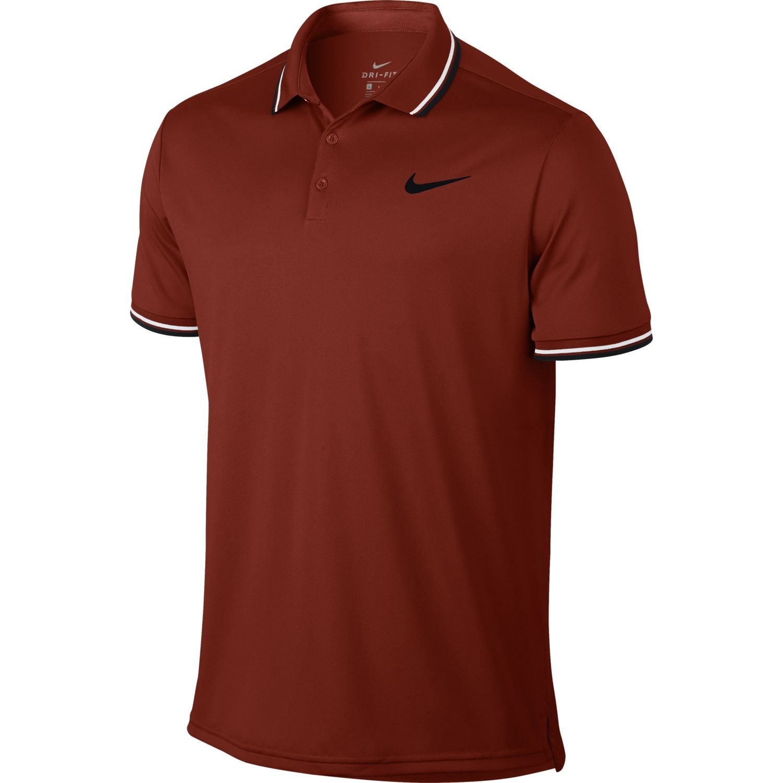 Nike M nkct Dry Polo Solid PQ Naranja –  M