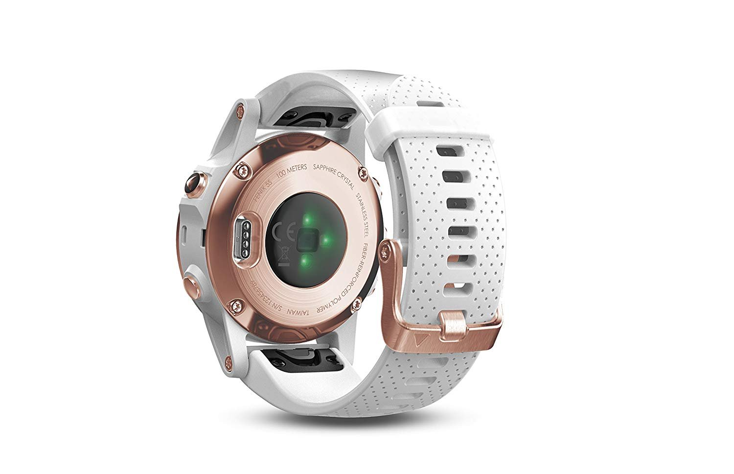 Garmin Fenix 5S - Sapphire, (Rose Gold/White Band) Bundle with PowerBank + USB Car Charger + USB Wall Charger (4 Items) by E Zee Electronics (Image #7)