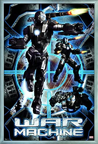 "Iron Man War Machine poster wall decoration photo print 24x24/"" inches"