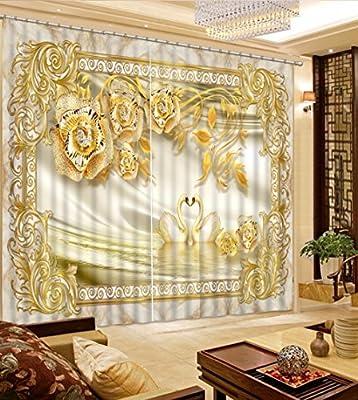 Sproud Modèle de luxe pour rideaux Fleur Chambre Salon ...
