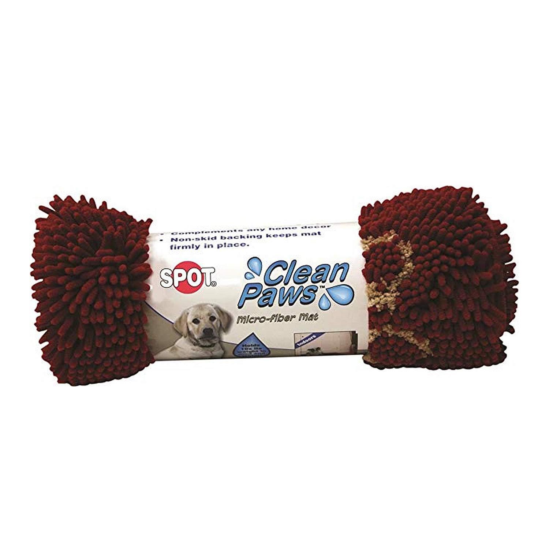 Ethical 50033 Spot Clean Paws Mat Grey 31x20 Lambert Vet Supply