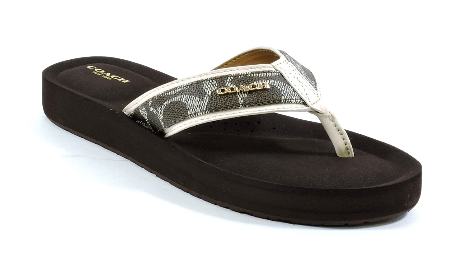 Amazon | Coach Womens Judy Flip Flop