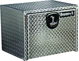 Buyers Products 1705149 Diamond Tread Aluminum Underbody Truck Box with T-Handle Latch (14x12x18 Inch)