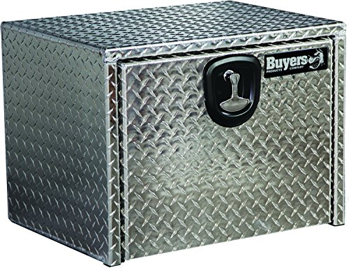 Buyers Products 1705148 Diamond Tread Aluminum Underbody Truck Box with T-Handle Latch (14x12x16 Inch) by Buyers Products (Image #2)