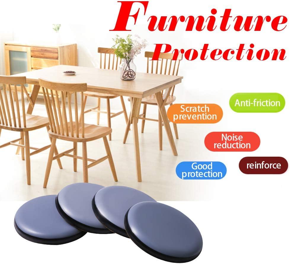 Deslizadores de muebles para alfombras y pisos de madera dura deslizadores adhesivos para muebles