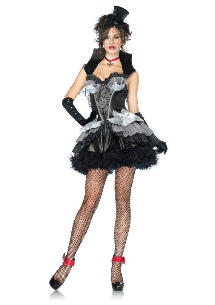 Leg Avenue 83823 - Königin of Darkness Kostüm, Größe L, schwarz Größe L 8382303197