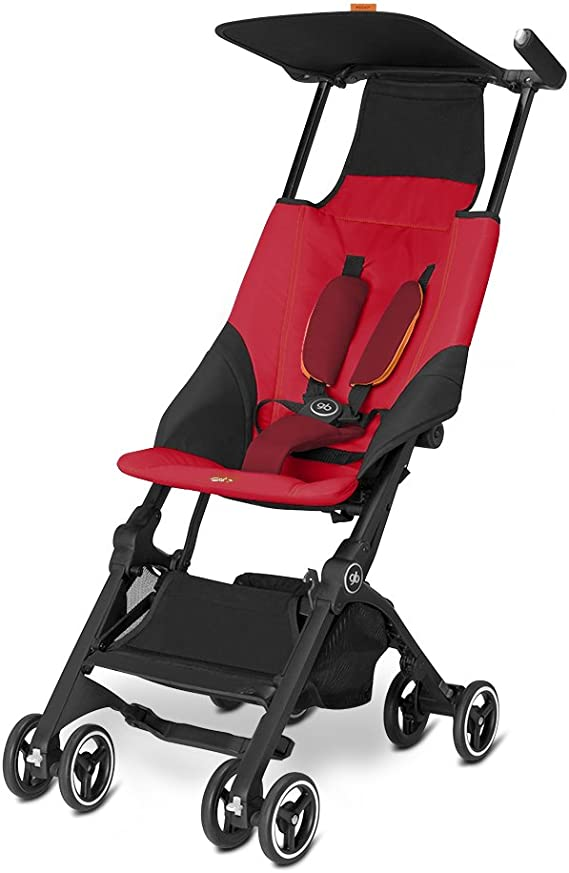 Bolsa de transporte para cochecito de bebé de Goodbaby POCKIT, talla única , Negro