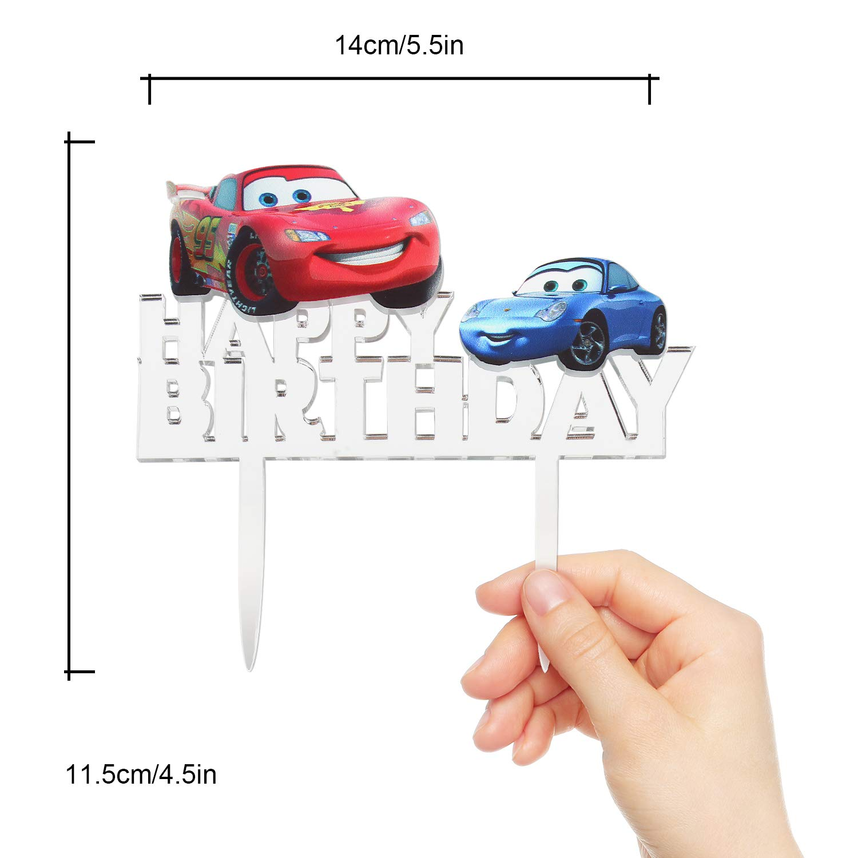 Disney Cars Lightening McQueen Cupcake Holder Hallmark Party Supplies
