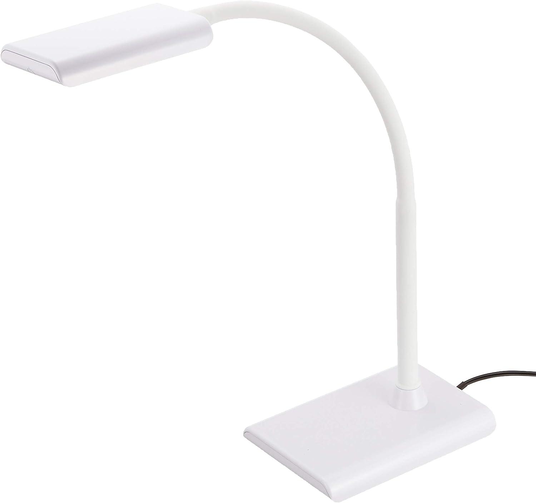 オーム電機 デスクライト LED デスクランプ ODS-LS16-W