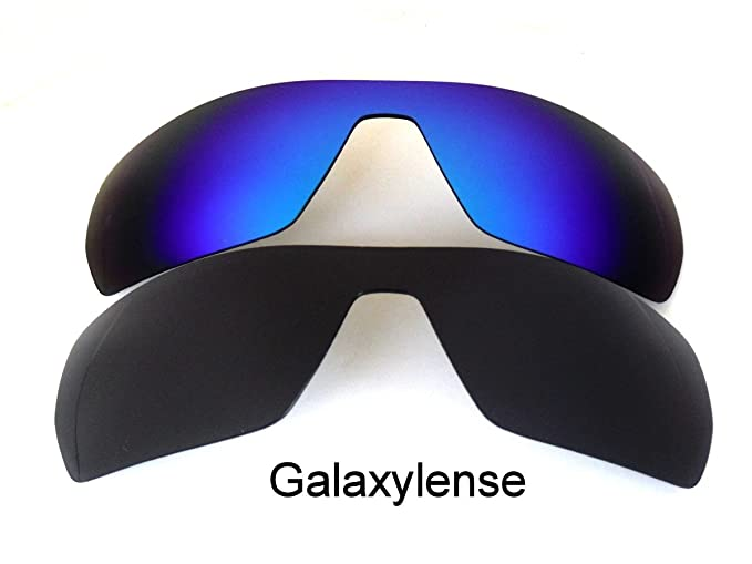 9aeb27976e Image Unavailable. Image not available for. Color  Galaxy Replacement Lenses  For Oakley Offshoot Polarized Black Blue 2Pair