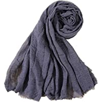 Bigood Womens Soft Touch Feeling Cotton Linen Muslim Hijab Scarf Shawl Head Wrap