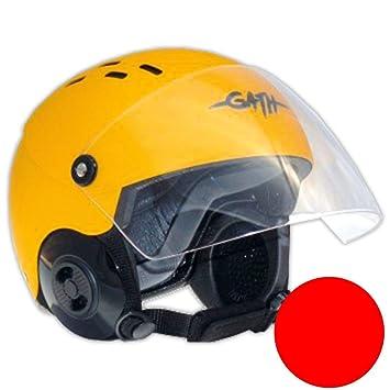 GATH Casco Rescue Safety Red Mate XL Smoke Visera