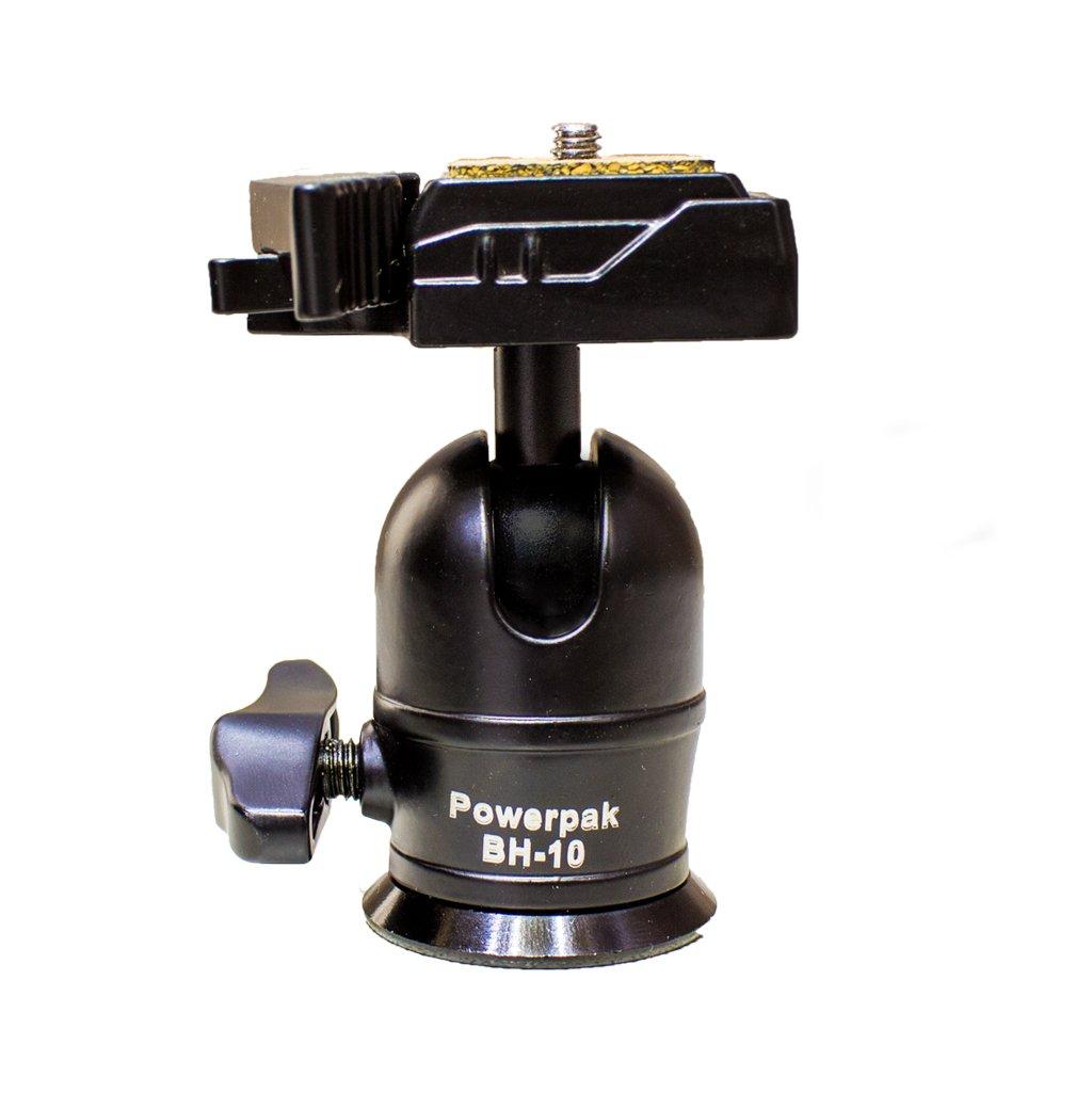 PowerPak BH-10 360 Swivel Mini Ball Head