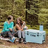 RTIC Hard Cooler, 20 qt, Blue, Ice Chest with Heavy