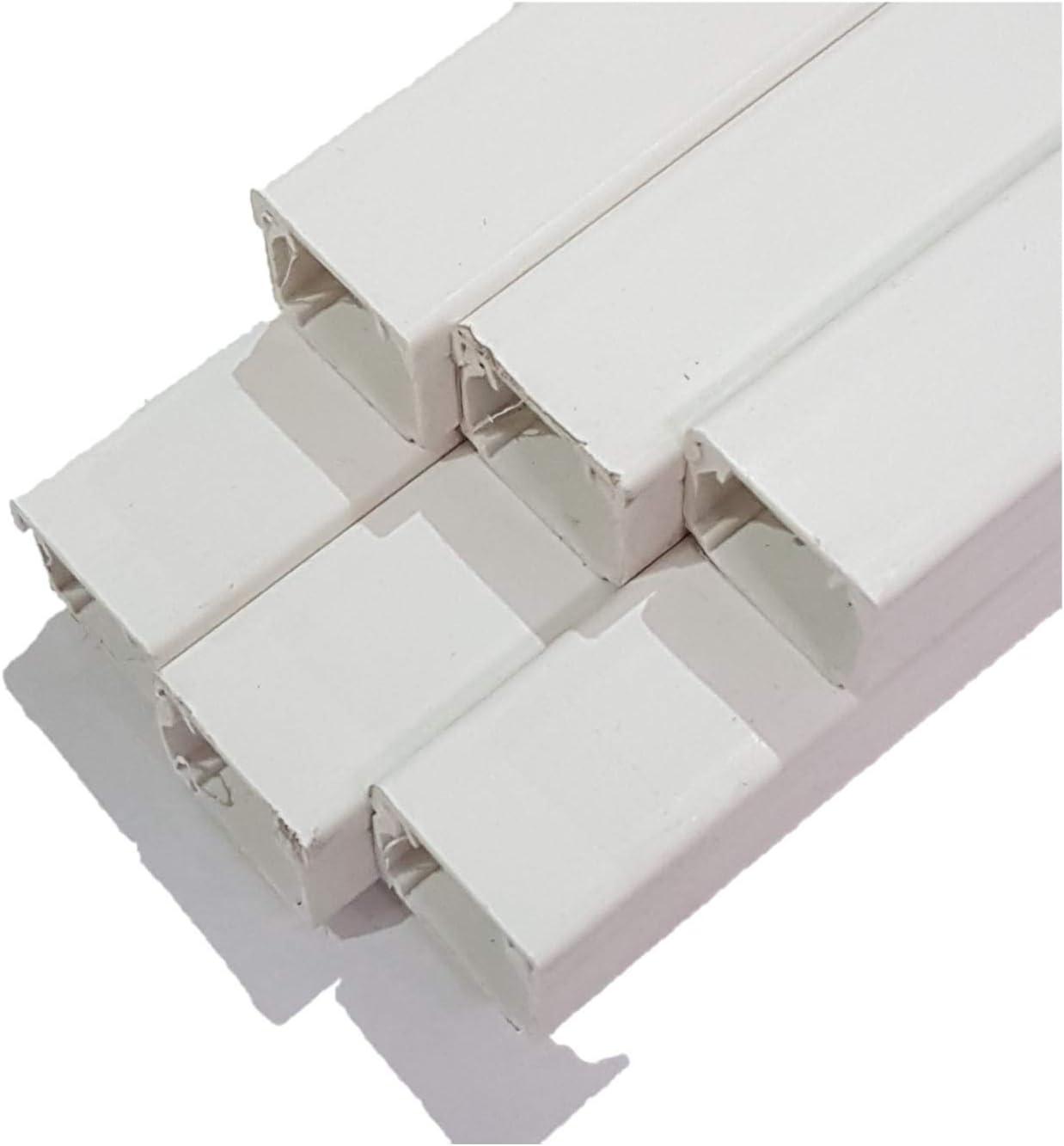 Eckverbinder Innen Eck für Kabelkanal 20x20 mm PVC Weiß von powerpreis24