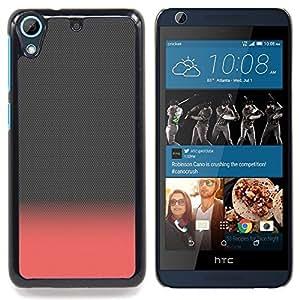 FOR HTC Desire 626 & 626s Queen Pattern - Grey Pink Peach Gray Clean Minimalist - Doble capa de armadura de la cubierta del caso del protector -