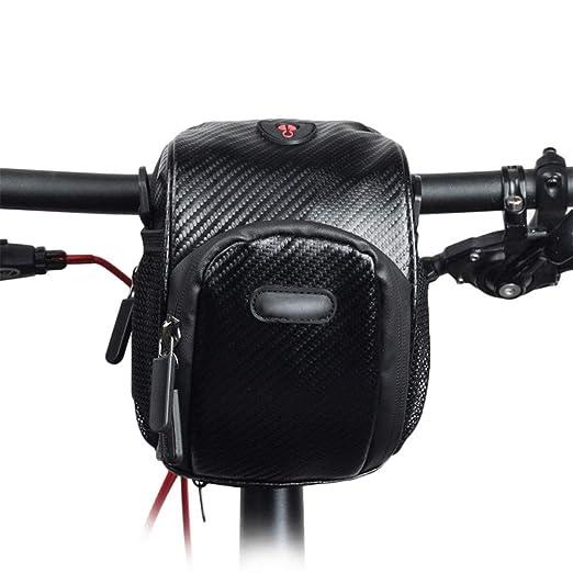 LERDBT Bolsas para Cuadros de Bicicleta Bolsa de Manillar de ...