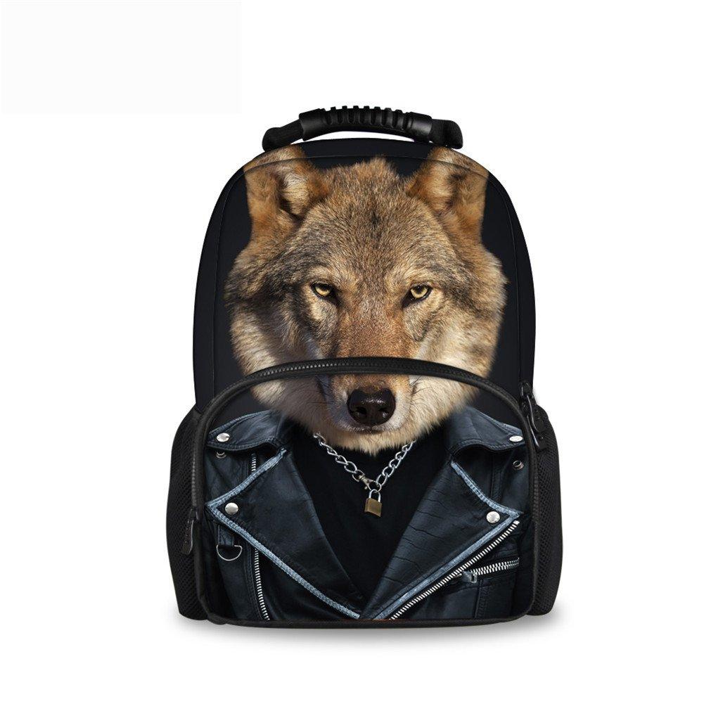 CHAQLIN Schulrucksack Schwarz pet dog-2 Large B0746HXWWR | Outlet Online Store
