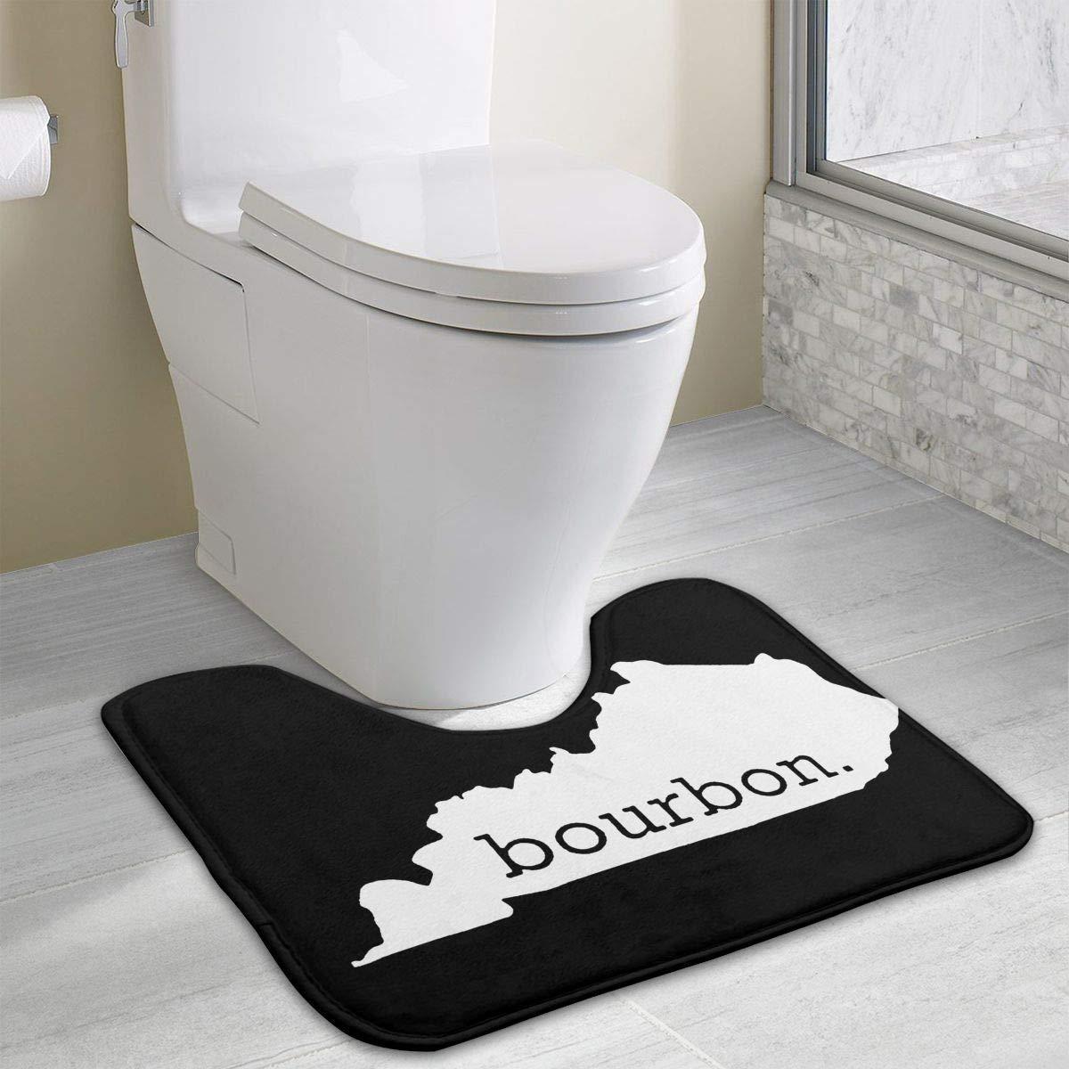 Tremendous Amazon Com Non Slip Contour Bath Mat For Toilet Kentucky Spiritservingveterans Wood Chair Design Ideas Spiritservingveteransorg