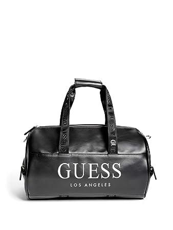 b0c21bc330 Amazon.com  GUESS Factory Women s Logo Gym Travel Duffle Bag  Fashion-USA
