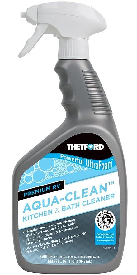 Amazoncom Thetford Premium RV AquaClean Kitchen And Bath Cleaner - Kitchen and bathroom cleaner