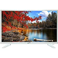 Supersonic SC-2211-WH White AC/DC HDMI 1080p 22 LED Widescreen HDTV Television