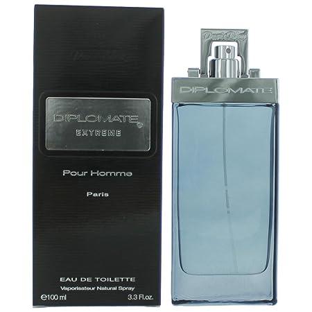 Diplomate Extreme Pour Homme By Paris Bleu Parfums Cologne for Men 3.3 oz 100 ml Eau De Toilette Spray