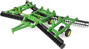 TOMY John Deere Big Farm Scale 637 Flex Fold Disk Toy (1:16 Scale)