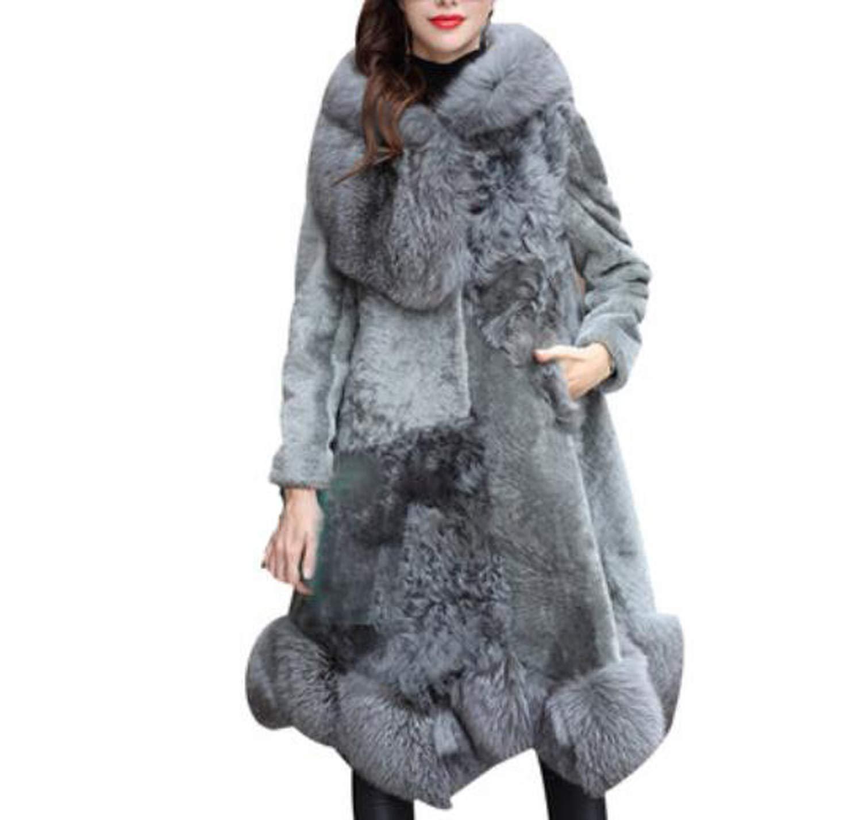 女性フード付き暖かいコートフェイクファーオーバーロングパーカーファージャケット冬 B07JMDTW2G Blue Medium|Blue Medium|Blue Medium Blue Medium, 小俣町:8e0bfe1f --- harrow-unison.org.uk