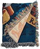 #10: Harry Potter, Raven Claw's Crest Woven Tapestry Throw Blanket, 48