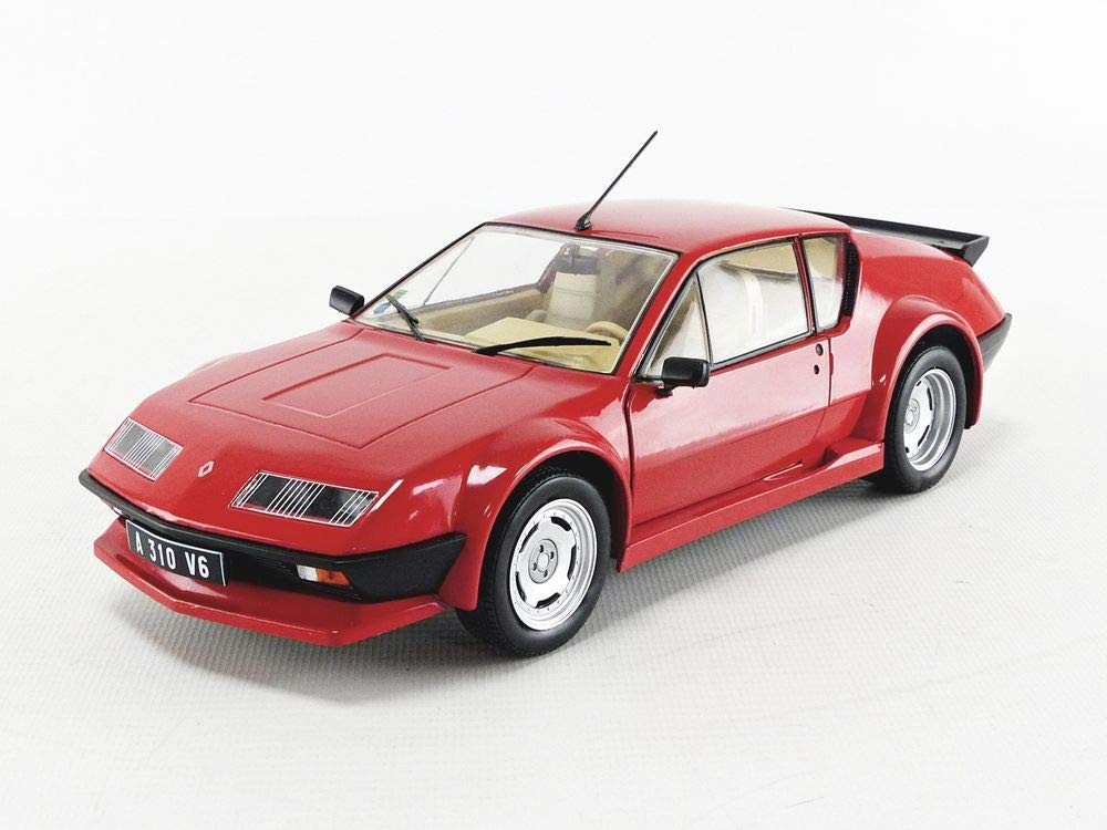 S1801202 1801202 1//18EM Solido Alpine A310 Pack GT Rouge Voiture Miniature de Collection
