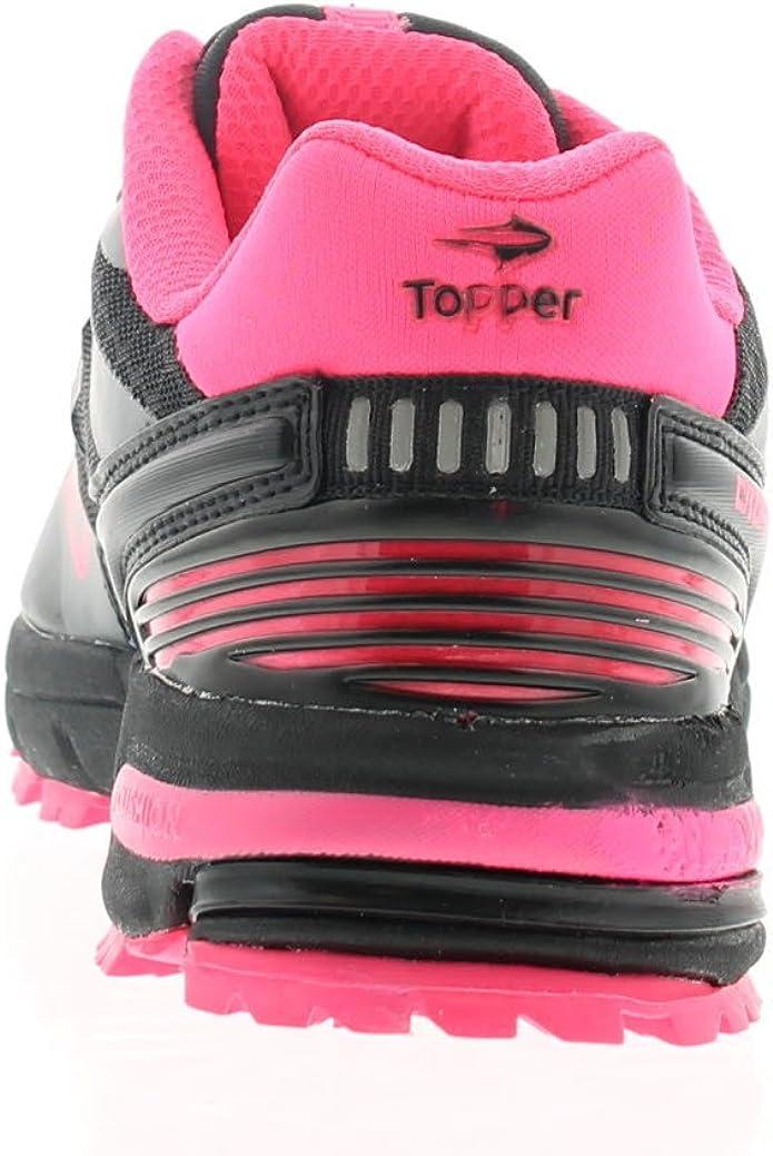Wynsors Topper L Mujer Zapatillas de Senderismo Negro/Fucsia - Negro/Fucsia - GB Tallas 2-7 - Negro/Fucsia, 39.5 EU: Amazon.es: Zapatos y complementos