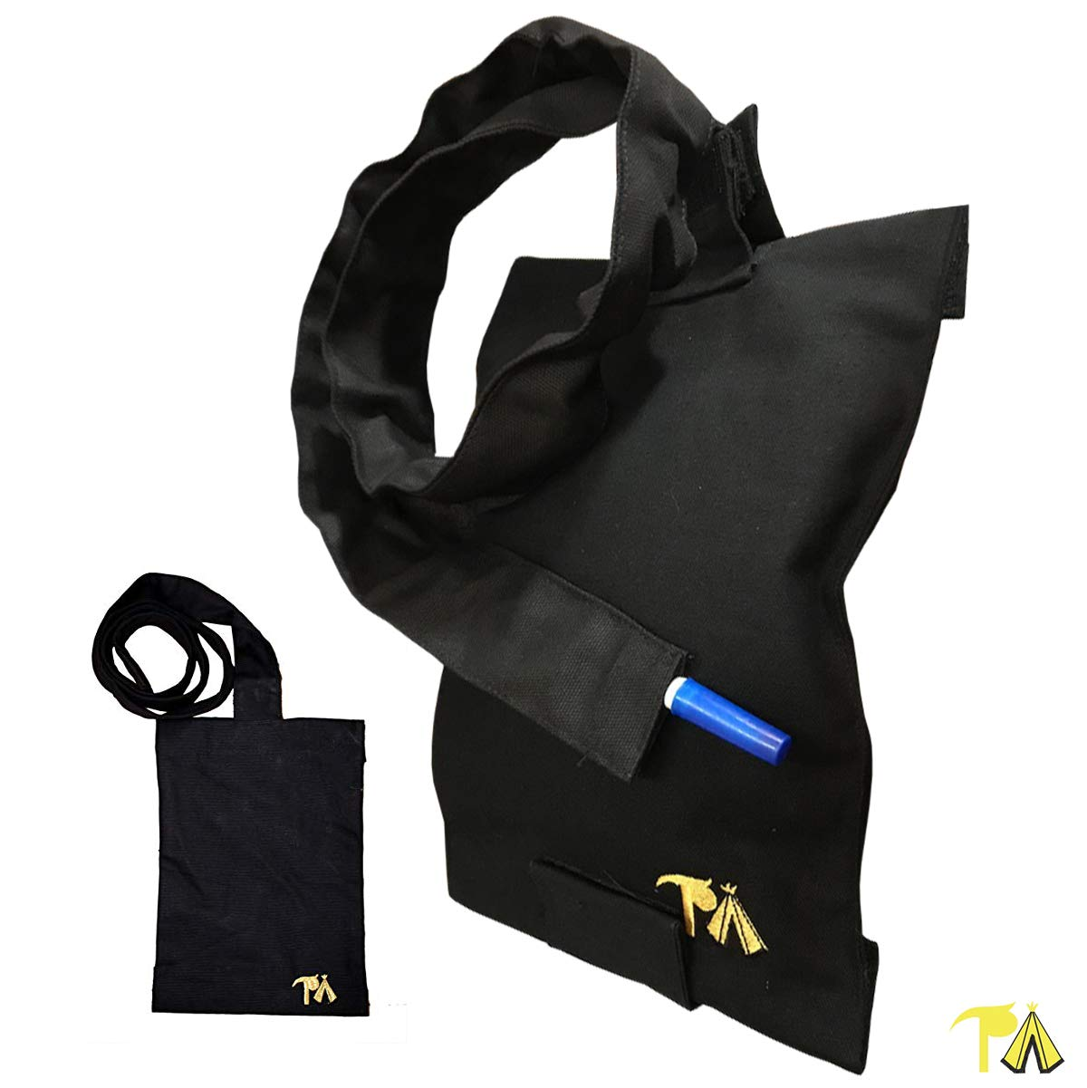 TP Bag Portable Catheter Bag Covers with Detachable Tube (2000 mL) Discrete Home and Travel Use | Scooter, Easy Chair, Bed Side | NOT a Leg Bag Cover| 11 x 8 x 1 in by The TP Bag Company
