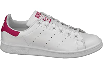 online store 71bb8 1d1fe adidas Junior Baskets Bas B32703 Stan Smith J Taille 35 1-2 Bianco Fuxia