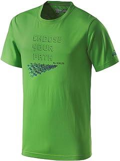 McKinley Kinder Wander Freizeit Funktions T-Shirt kupuna mit UV-Schutz blau gr/ün