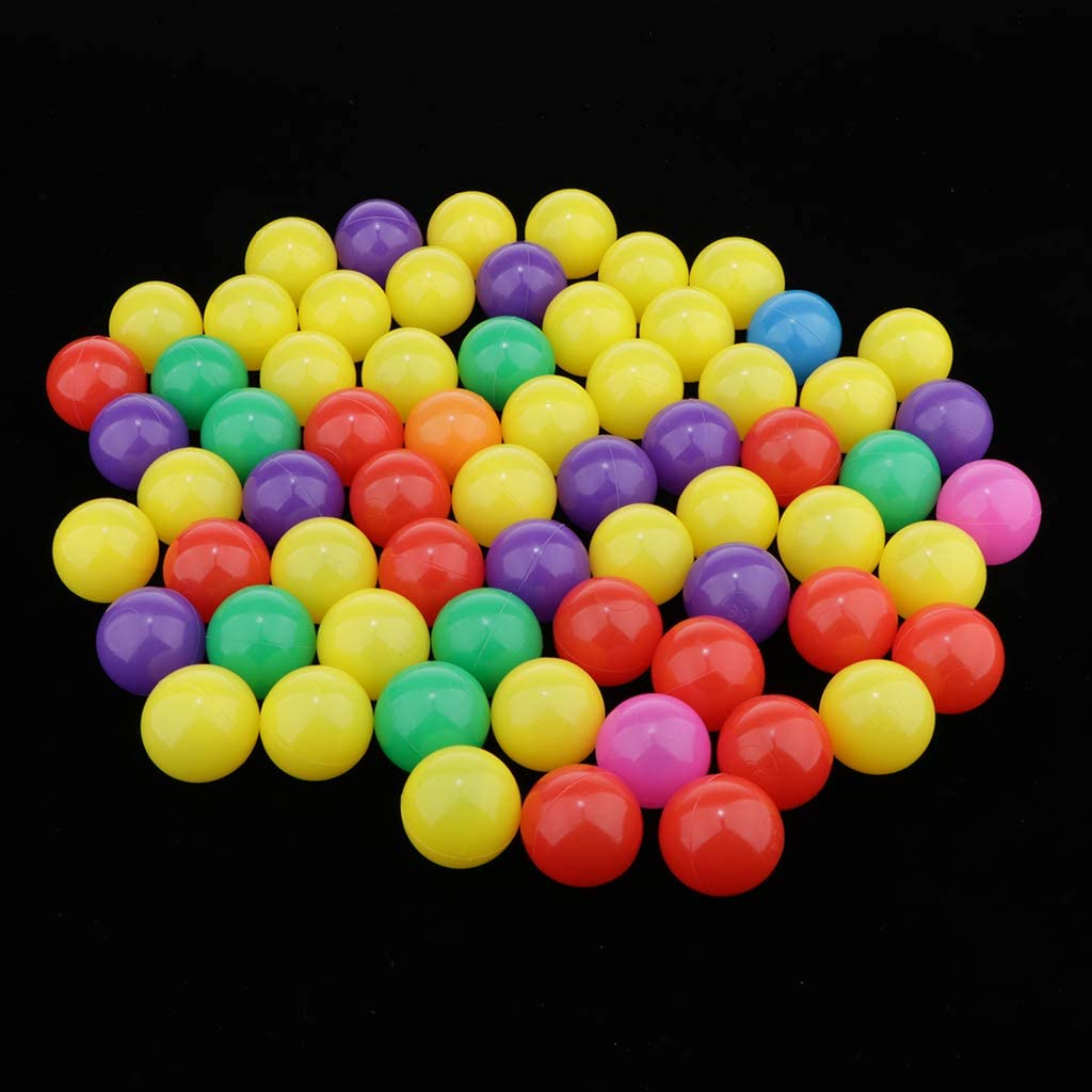 Muticolors,4cm SM SunniMix Pack of 300 Ocean Balls Swim Pit Balls for Ball Pit Play Tent Playhouse Swimming Pool Water Pool