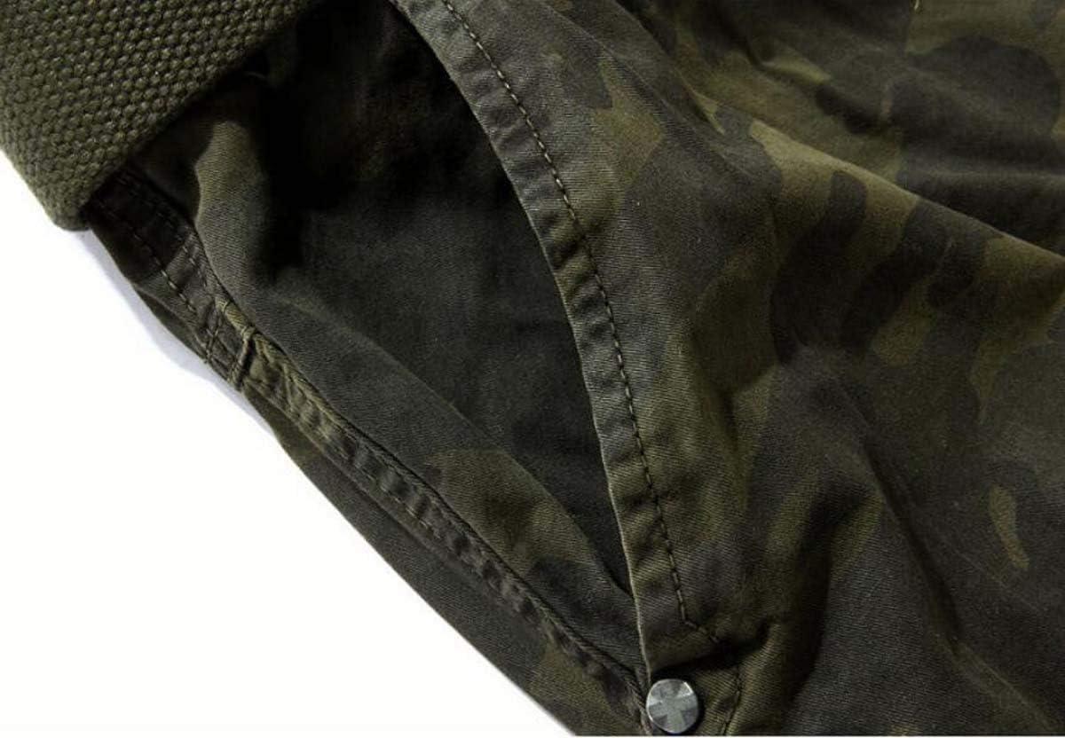 Mens Cargo Shorts Summer Causal Military Style Cargo Army Shorts Multi Pocket Plus Size Casual Sports Shorts,Khaki Camouflage,29