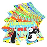 2-8 Years Boys Kung Fu Panda Underwear Toddler Character Boxer Briefs 5 Pack