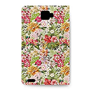 Leather Folio Diy For Iphone 6 Case Cover Leather Folio - Bright Vintage Flowers Folio PU Leather