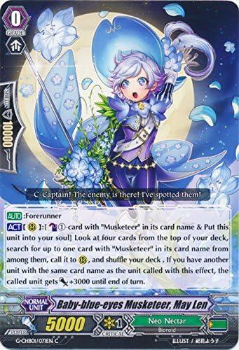 CARDFIGHT VANGUARD CARD G-CHB01//071EN C MAY LEN BABY-BLUE-EYES MUSKETEER