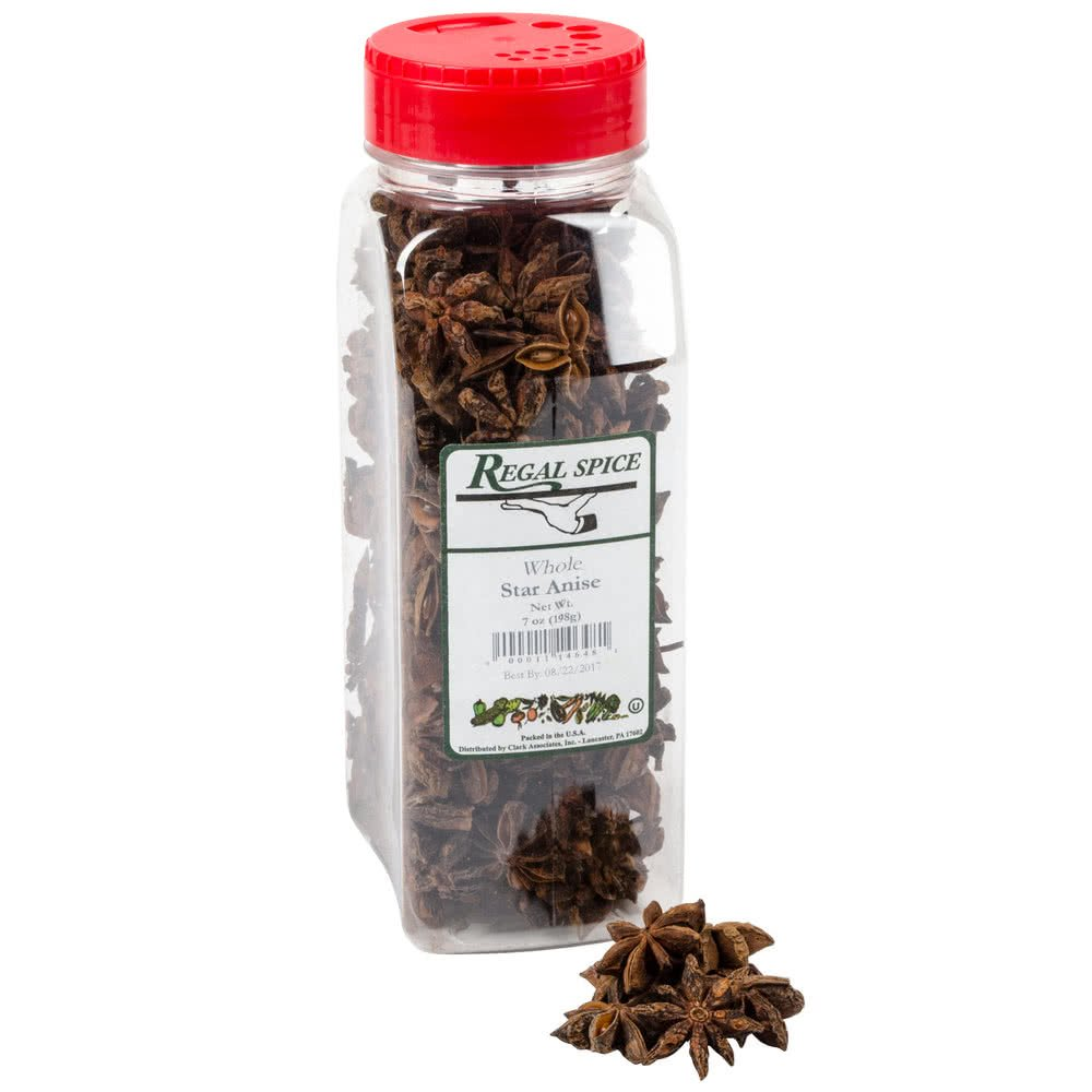 Whole Star Anise 7 oz. By TableTop King