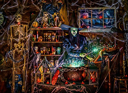 (Vermont Christmas Company Witches' Brew Jigsaw Puzzle 1000)