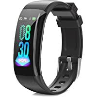DoSmarter Fitness Tracker, Health Watch with All-Day Heart Rate Blood Pressure Monitoring,Waterproof Activity Tracker…