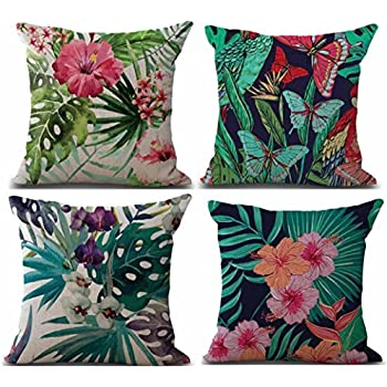 Amazon.com: Funda de almohada de poliéster con diseño de ...